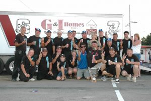 A team shot after Sitterly's third Classic win in 2012