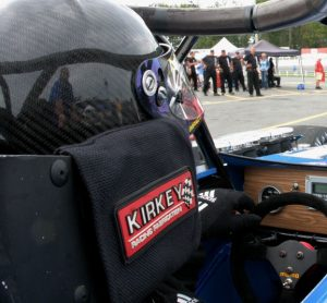 Otto's view from the Nicotra Racing supermodified cockpit in 2011 (Roy Dewhurst)