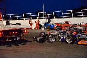 After a P4 finish in the first twin 35, Otto was involved in this opening-lap accident in the nightcap