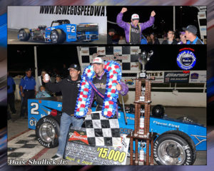Dave Shullick Jr. (Robert J Clark photo collage)