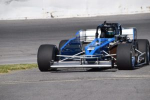 Shullick heads pitside in his Nicotra Racing / Futuri Media No. 2 (Bob Lacelle photo)