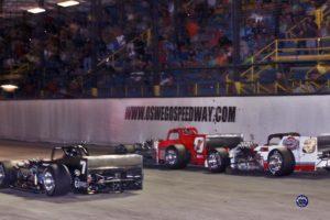 Otto and Didero race to the stripe! (Robert J Clark photo)