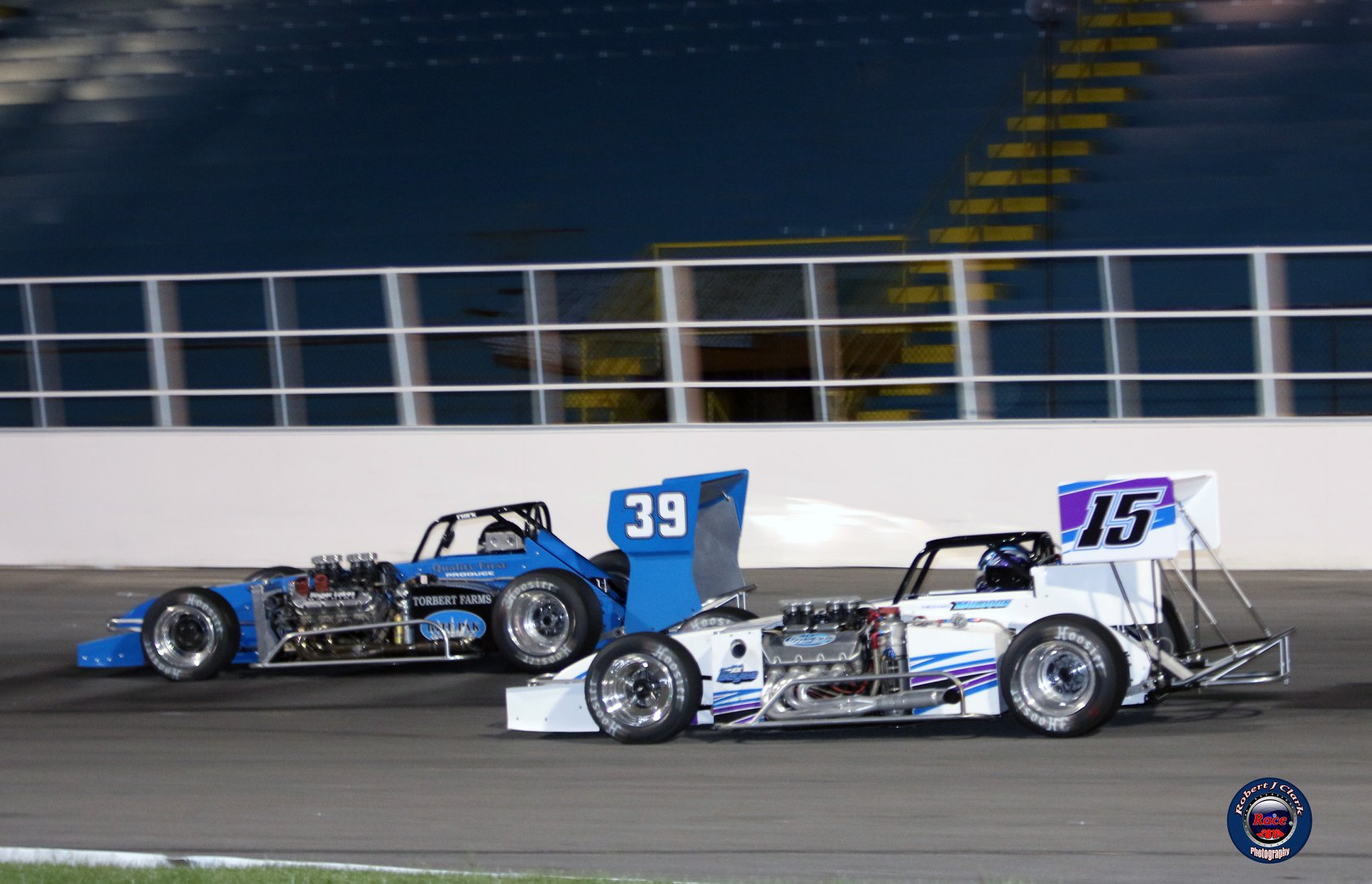 Alison Sload (39) races with Mike Muldoon Saturday, June 8 at Oswego (Robert J Clark photo)
