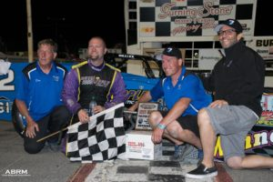 2017 Oswego championship with Dave Shullick Jr. and father-son crew Dan Canipe (Alex Borland)