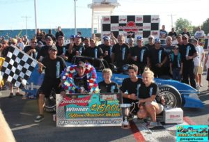 Sitterly, Nicotra and team after Classic win No. 3 in 2012 (Pinner)