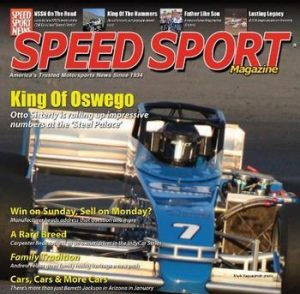 2013 Speed Sport Magazine cover story on Otto Sitterly / Nicotra Racing